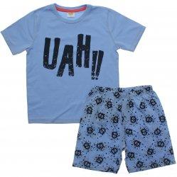 Pijama Infantil Have Fun Menino UAH Bermuda Estampada 31760