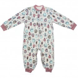 Pijama Inverno Have Fun Menina Macacão Moletinho Estampado 31289
