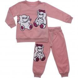 Pijama Inverno Have Fun Menina Ursinhos Glitter 31276