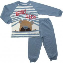 Pijama Inverno Have Fun Menino Bearly Sleepy 31285