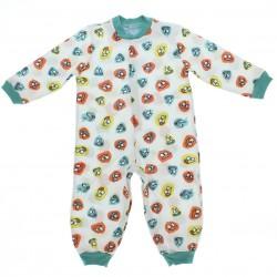 Pijama Inverno Have Fun Menino Macac�o Estampado 28518