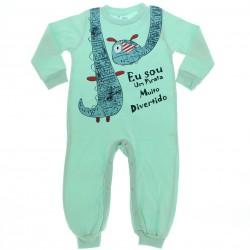 Pijama Inverno Have Fun Menino Macacão Estampado 28521