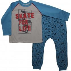Pijama Inverno Have Fun Menino Moletinho Estampa Skate 29800