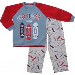 Pijama Inverno Have Fun Menino Moletinho Rest Skate 31295