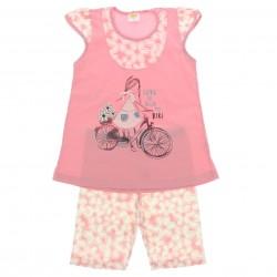 Pijama Ver�o Have Fun Infantil Menina Bicicleta La�o 29240