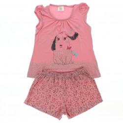 Pijama Verão Have Fun Infantil Menina Cachorrinhos 29012