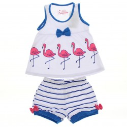 Pijama Ver�o Have Fun Infantil Menina Flamingos 29249