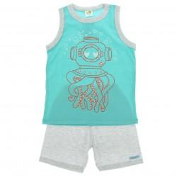 Pijama Ver�o Have Fun Infantil Menino Estampa Polvo 29233
