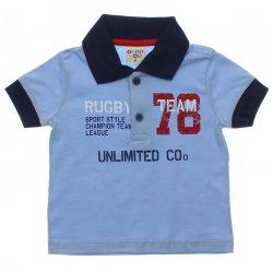 Polo Have Fun Infantil Rugby e Manga Punho 31718