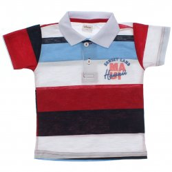 Polo Infantil Elian Menino Listrada Bordado Sunset Land 31475