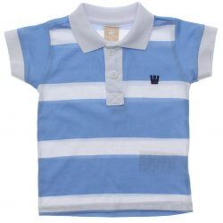Polo Infantil Menino Colorittá Listrada Bordado 1 ao 3 31618
