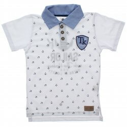 Polo Infantil Time Kids Menino Estampa Âncoras 31832
