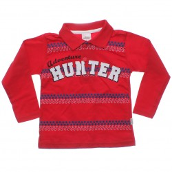 Polo Manga Longa Elian Infantil Adventure Hunter 30982