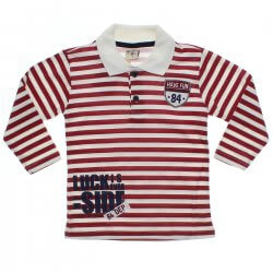 Polo Manga Longa Have Fun Infantil Listrada Way To Be Boy 31343