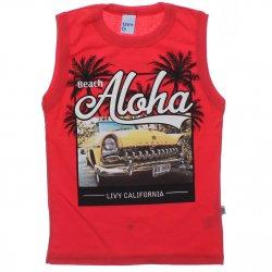 Regata Infantil Livy Menino Beach Aloha 31816