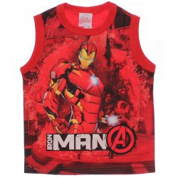 Regata Marvel Infantil Vingadores Brilha no Escuro Personagem 31565