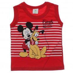 Regata Mickey Bebê com Listras e Pluto 31430
