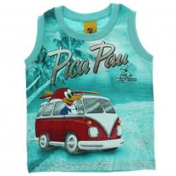 Regata Pica Pau Infantil Menino Kombi Surf 28654