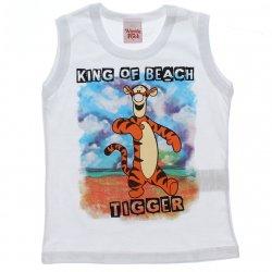 Regata Tigrão Infantil Menino King Of Beach 31435