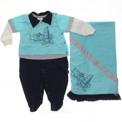 Saida Maternidade Para�so Menino Nautical Miles 30371