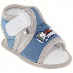 Sandália Keto Baby Menino Velcro Golfinho 30390