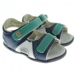 Sand�lia Pimpolho Infantil Menino Papete Trilha Velcro 27557