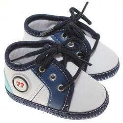 Sapato Keto Baby Menino Cadarço Aplique 77 31263
