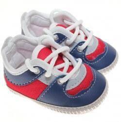 Sapato Keto Baby Menino Cadarço Corino 31259