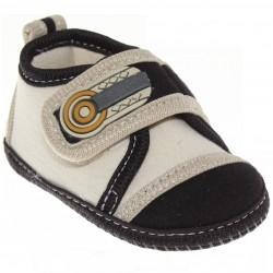 Sapato Keto Baby Menino Velcro Recorte Ponteira 30383