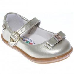 Sapato Pé Com Pé Menina Nenem Fivela Laço Strass 30263