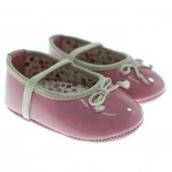 Sapato Pimpolho Bebê Menina Afago Verniz Laço 27735