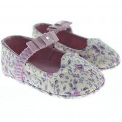 Sapato Pimpolho Bebê Menina Top Baby Floral Elastico 27733