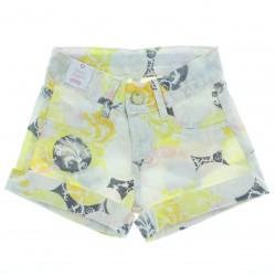 Shorts Alakazoo Premium Infantil Juvenil Menina Floral 27023