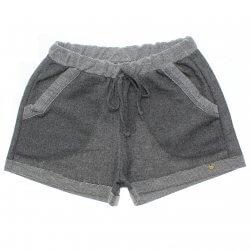 Shorts Rovitex Teen Moletinho Cadarço e Bolsos 31520