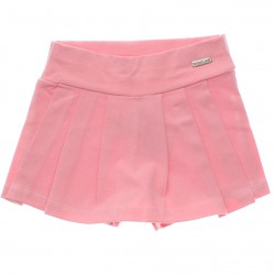 Shorts Saia Have Fun Infantil Juvenil Liso Cotton 30214