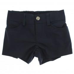 Shorts Vrasalon Infantil Menina Liso em Popeline 27527