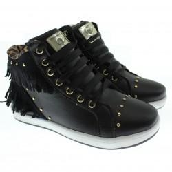 T�nis Sneaker Pampili Miss Menina Franja Spike 28483