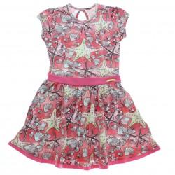 Vestido Alakazoo Infantil Estampa Estrela do Mar 28842