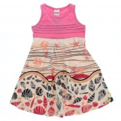 Vestido Alakazoo Infantil Menina Drapeado Com Strass 28819