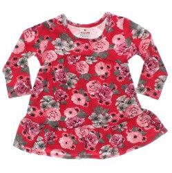 Vestido Brandili Beb� Estampa Floral 29603