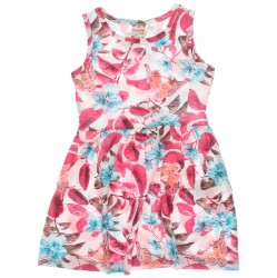 Vestido Brandili Club Infantil Estampado Floral 29983