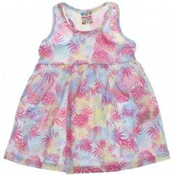 Vestido Brandili Club Infantil Estampado Floral 31440