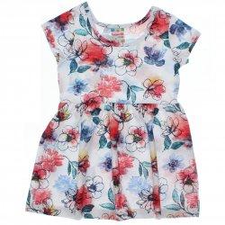 Vestido Brandili Club Infantil Estampado Floral Malha 31557