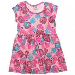 Vestido Brandili Club Infantil Estampado Frutas 30669