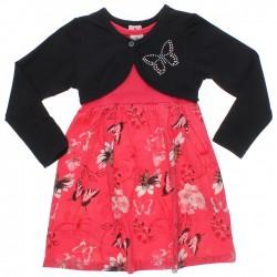 Vestido Brandili Infantil Bolero Borboleta 30929