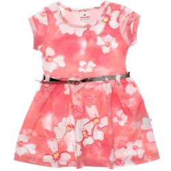 Vestido Brandili Infantil Cotton Floral Sublimado 29960