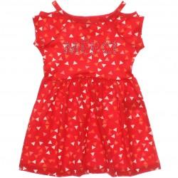 Vestido Brandili Infantil Juvenil Geometrico Merci 29892