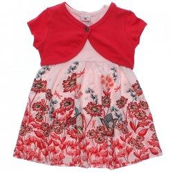 Vestido Brandili Infantil Malha Estampa Fadas Bolero 31540