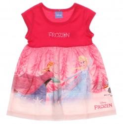 Vestido Disney Frozen Infantil Bordado Lantejoula 29998