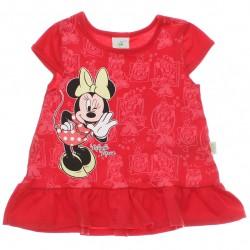 Vestido Disney Minnie Bebê Estampado Babado 29919